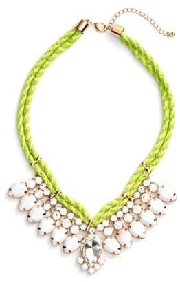 Adia Kibur Teardrop Rope Necklace
