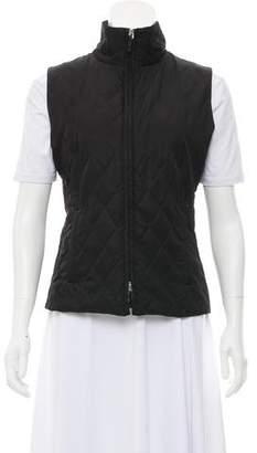 Burberry Quilted Zip Vest
