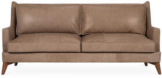 "One Kings Lane Beverlywood 83"" Sofa - Pewter Leather"