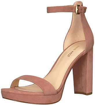 Nine West Women's Dempsey Suede Heeled Sandal