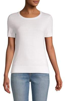 Saks Fifth Avenue Short-Sleeve Sweater