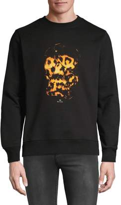 Paul Smith Skull Graphic Sweatshirt