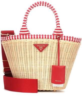 b93f6ec4b12a Prada Straw Bag - ShopStyle