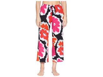 Donna Karan Floral Capri Pants Women's Pajama