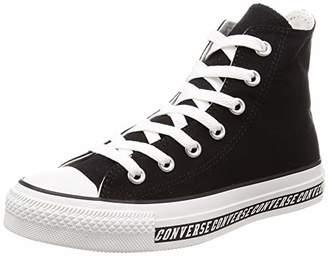 Converse (コンバース) - [コンバース] スニーカー オールスター ロゴライン[ハイカット] ブラック US 7(25.5 cm)