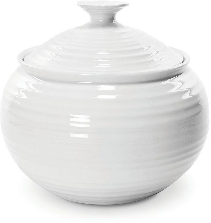 Sophie Conran Portmeirion white small covered casserole dish