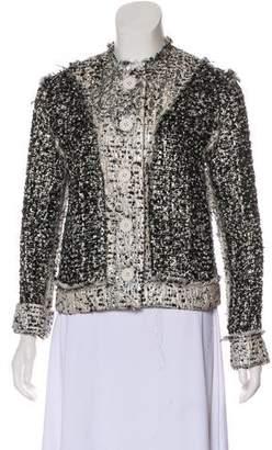 Christopher Kane Wool Button-Up Jacket