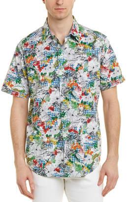 Robert Graham Barrier Reef Woven Shirt