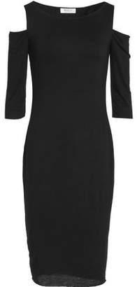 Bailey 44 Deneuve Cold-Shoulder Stretch-Jersey Dress