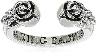 "King Baby ""Heartbreaker"" Open Roses Ring, Size 7 $135 thestylecure.com"