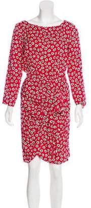 Saint Laurent Vintage Silk Dress