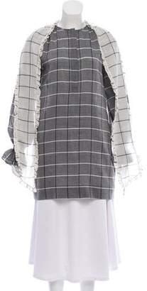 Rachel Zoe Wool Long Sleeve Tunic