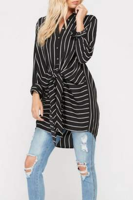 Wishlist Wrap Tie Tunic