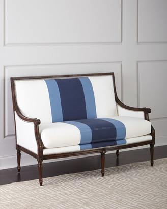 Lapis Massoud Colorblock Settee