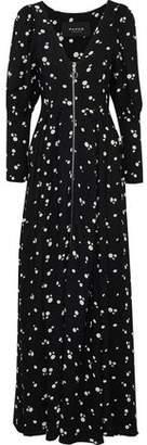 Paper London Mamba Floral-Print Crepe Maxi Dress