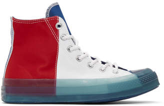Converse Multicolor Transparent Sole Chuck 70 High Sneakers