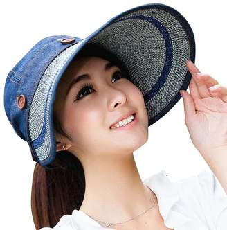 4279a101639 30th floor UV Sun hats women summer Sun hats - Beach Sun Visor