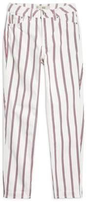 Topshop Stripe Mom Jeans