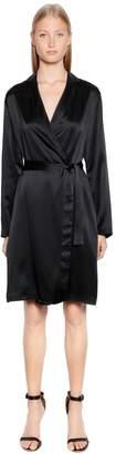 La Perla Silk Satin Kimono Robe