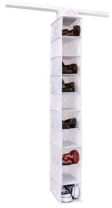 Macbeth Candie Couture NW 10 Shelf shoe organizer - IKAT pattern