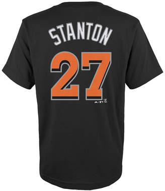 Majestic MajesticGiancarlo Stanton Miami Marlins Player T-Shirt, Big Boys (8-20)
