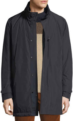 Moncler Men's Daumeray Snap-Front Utility Jacket