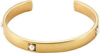 Marc Jacobs Dotted Pearl Cuff Bracelet