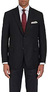 Brioni Men's Ravello Cashmere Two-Button Sportcoat-Black