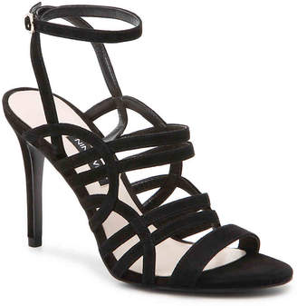 1a045b9dbfa3 Nine West Black Leather Lined Women s Sandals - ShopStyle