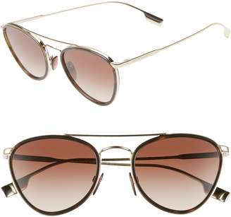 1c28fc3a7b Burberry Metal Aviator Sunglasses - ShopStyle