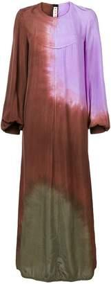 Marni tie-dye print dress