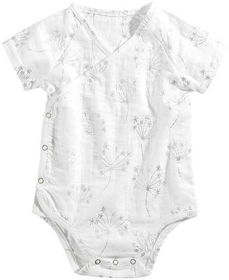 Aden Anais aden + anais Short Sleeve Kimono Body Suit Girl's Jumpsuit & Rompers One Piece