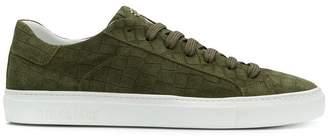Hide&Jack crocodile effect low top sneakers