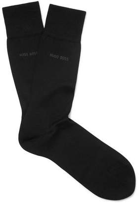 HUGO BOSS Mercerised Cotton Socks