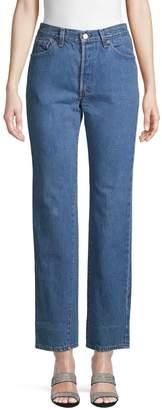 Elizabeth and James Vintage Michelle Straight-Leg Jeans