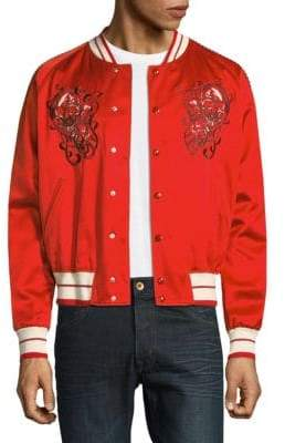 Alexander McQueen Embroidered Skull Jacket