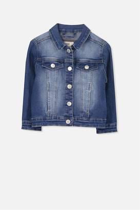 Cotton On Dolly Embellished Denim Jacket