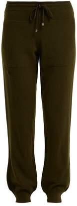 Barrie - Romantic Cashmere Track Pants - Womens - Khaki