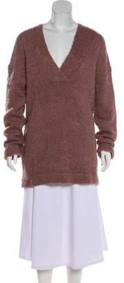 Dion Lee V-Neck Knit Sweater