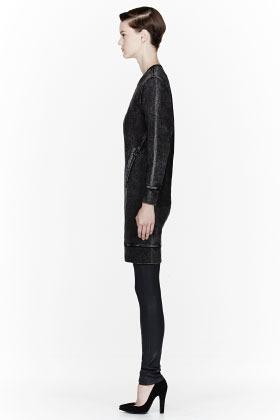Helmut Lang HELMUT Black faded sweatshirt