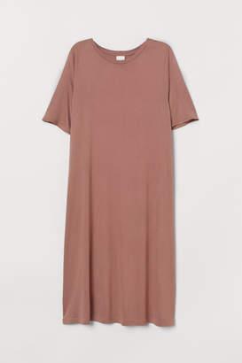 H&M Short T-shirt Dress - Orange