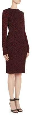 Givenchy Leopard Cotton Dress