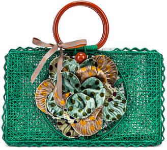 Silvia Tcherassi Turpiana Bag in Teal | FWRD