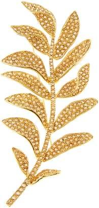 Oscar de la Renta Swarovski Crystal Brooch