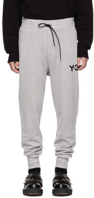 Y-3 Grey Classic Cuff Lounge Pants