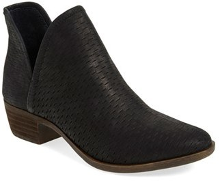 Women's Lucky Brand 'Bashina' Perforated Bootie $138.95 thestylecure.com