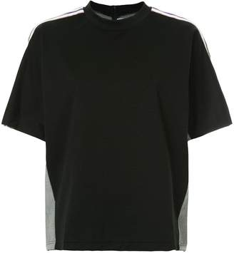 Puma Maison Yasuhiro combined check T-shirt