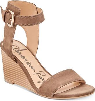 American Rag Aislinn Wedge Sandals, Created for Macy's Women's Shoes