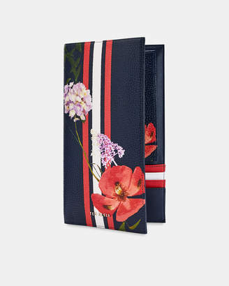 Ted Baker ROSEE Hedgerow leather travel wallet
