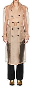 Maison Margiela WOMEN'S SHEER MOUSSELINE TRENCH COAT - NUDE SIZE 42
